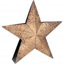 Metal star Zorka standing, D30cm, T below 7cm